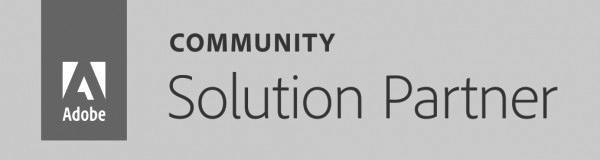 Adobe Community Solution Partner logo