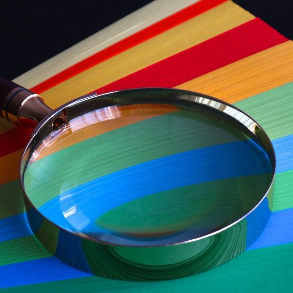 quality score magnifying glass