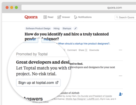 quora paid ads