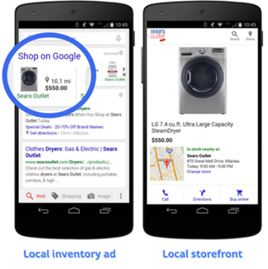 local shopping ads google assistant